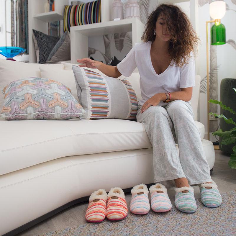 zapatillas mujer casa