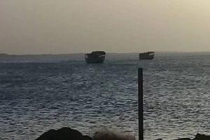 La embarcación fue vista por ultima vez el pasado jueves